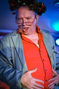 Peter Malzer in SCROOGE! Foto © Markus Steinwender